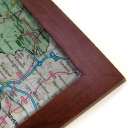 Wall Maps Centred on Your Business